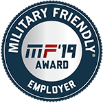 2018 Silver Military Friendly Employer Award